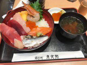 魚虎鮨 海鮮ちらし