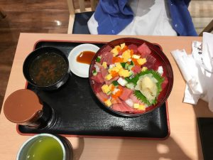 魚虎寿司 海鮮ばらちらし