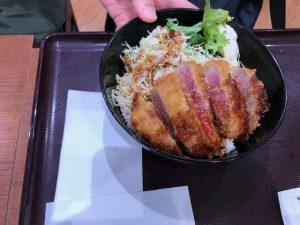柿安牛カツ丼